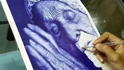 drawing  woman  ballpoint  youtube