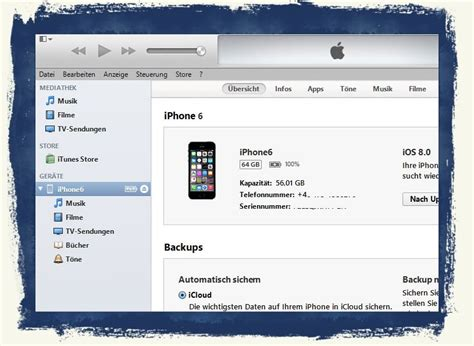 itunes for iphone 6 iphone 6 itunes installieren und backup des quot altger 228 ts
