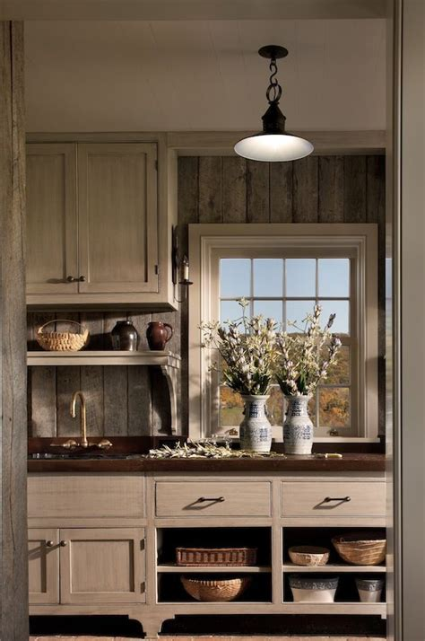 saylors country kitchen in the mudroom walls are sheathed in weathered barn 2109