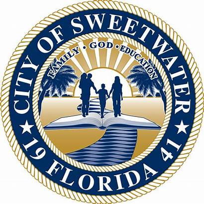 Miami Sweetwater Dade County Florida Police Seal