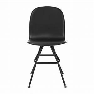 Stuhl Kunstleder Schwarz : loyd stuhl aus kunstleder schwarz und beine aus stahl schwarz habitat ~ Orissabook.com Haus und Dekorationen