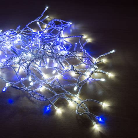 blue outdoor christmas lights blue white 960 led multi functional outdoor hanging icicle