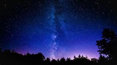 Galaxy Sky Night Stars Space Milky Wallpapers