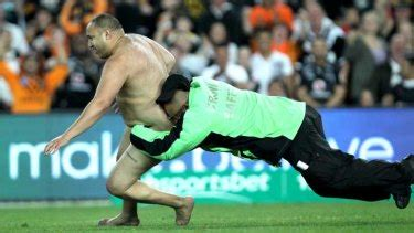 State of Origin streaker spoils decider