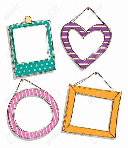 Frame Clipart Vector Doodle Clipground Cliparts Clip