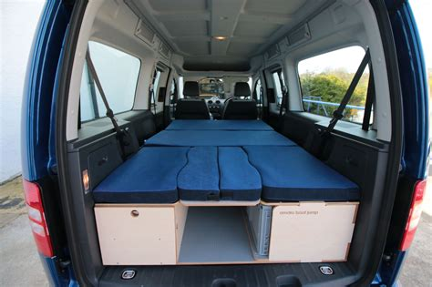 caddy maxi life bed camper ideen campingbus ausbau