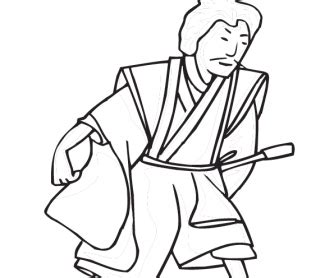 chinese  year colouring page