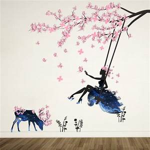 aliexpresscom acheter rose papillon stickers muraux With affiche chambre bébé avec acheter fleurs en gros