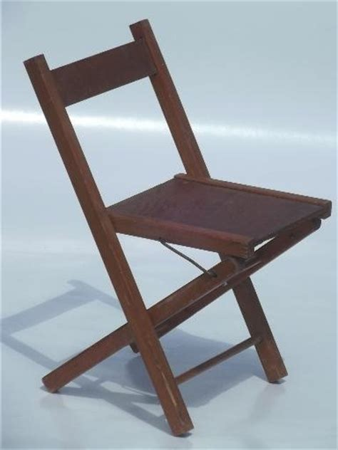 wooden folding chair child s size c seat