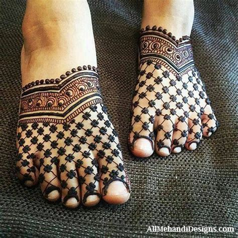 leg mehndi designs simple easy henna patterns