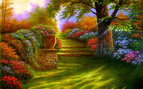3d Wallpapers Hd Images by 3d Garden Wallpapers Wallpaper Cave