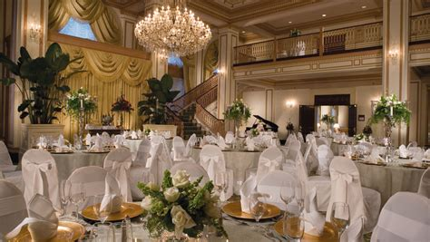 hotel wedding venues indianapolis wedding venues omni severin hotel