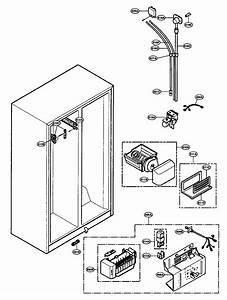Lg Sxs Refrigerator Freezer Parts