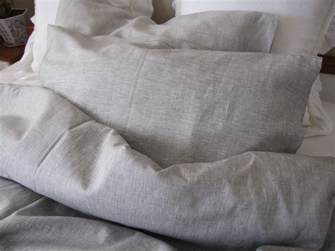 king linen comforter solid gray grey linen king duvet cover with bedding