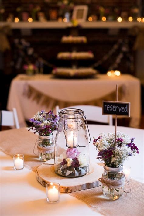 reception table decorations ideas  pinterest