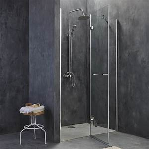 porte de douche pivotante 120 cm transparent open2 With porte douche breuer adena