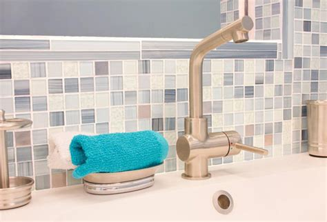 how to install a mosaic backsplash in two hours or less