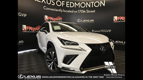 white  lexus nx   sport series  review west