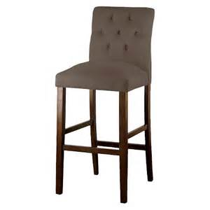 threshold brookline tufted velvet 29 quot barstool target