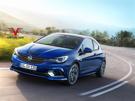 new renault clio 2017 opel astra opc rendered could use tuned 1 6 liter