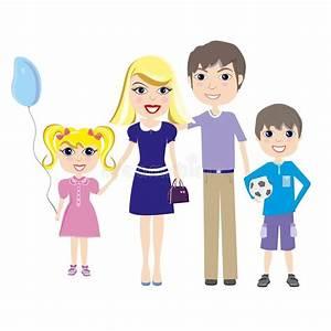 Familie Mit Drei Kindern : gl ckliche familie eltern mit zwei kindern junge und ~ A.2002-acura-tl-radio.info Haus und Dekorationen