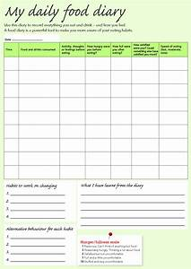 you searched for weight watchers food journal template With food and exercise diary template