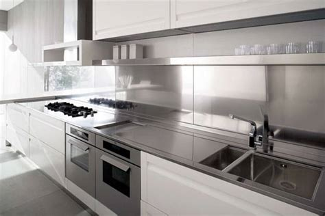 contemporary kitchen design ideas stainless