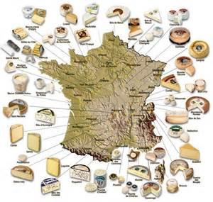 cuisine par region la carte de des fromages cuisine