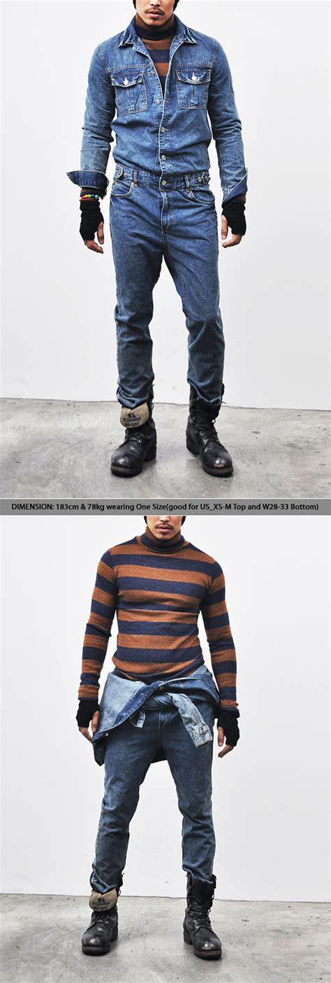 mens denim jumpsuit mens workwear vintage blue denim jumpsuit 110 fast