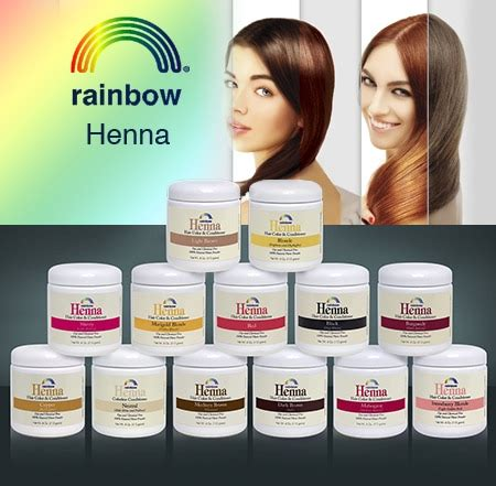 rainbow henna color chart henna rainbow research corp