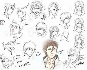 Drawing expressions by moni158 on DeviantArt