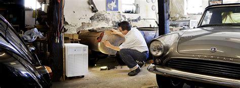 hohe luftfeuchtigkeit garage luftentfeuchter f 252 r oldtimer und garagen fieberitz