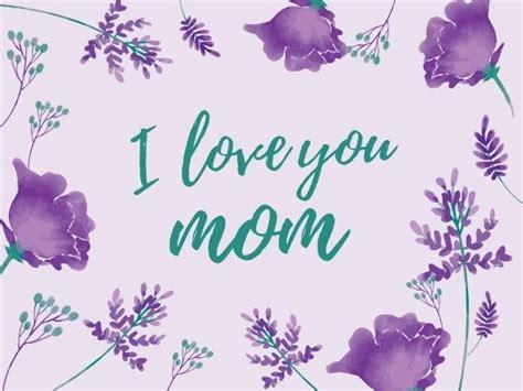 fotor  unique mothersday flower card