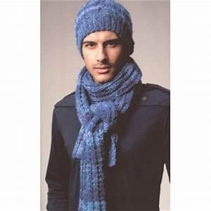 Echarpe Homme Tricot : modele tricot bonnet echarpe homme ~ Melissatoandfro.com Idées de Décoration