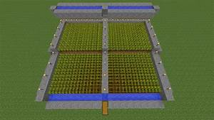 Minecraft Wheat Farm Tutorial - YouTube