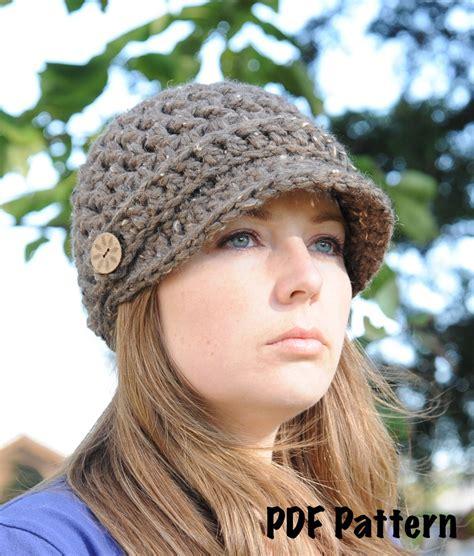 free crochet hat patterns crochet hat newsboy pattern crochet club