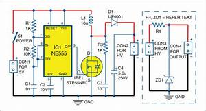High Voltage Generator For Microcontroller Projects
