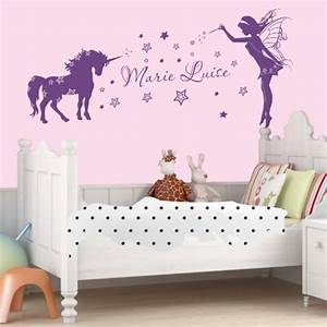 Decoration Licorne Chambre : wandtattoo pferd verschiedene motive ~ Teatrodelosmanantiales.com Idées de Décoration