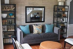 grasscloth wallpaper living room 2017