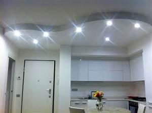Abbassamento soffitto moderno : Foto abbassamento in cartongesso di impresa edile