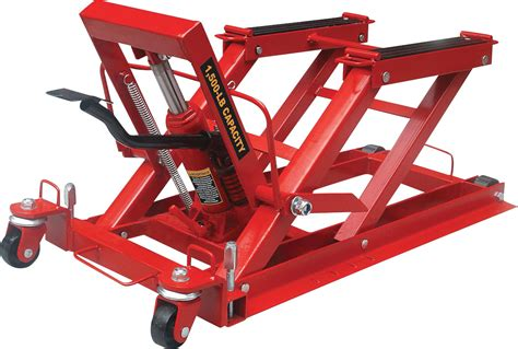 Heavy Duty Motorcycle Jack Lift Floor Atv Hydraulic