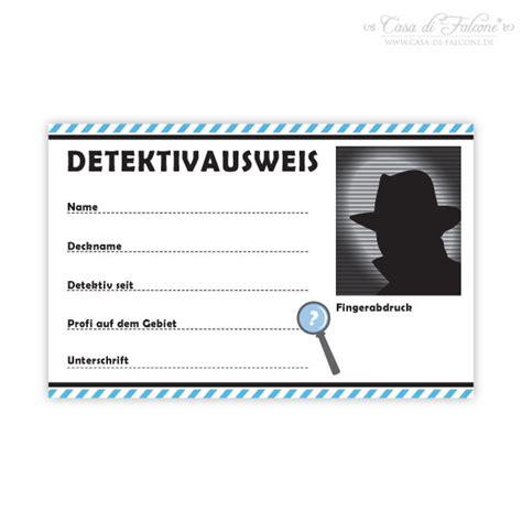 detektivausweis casa  falcone