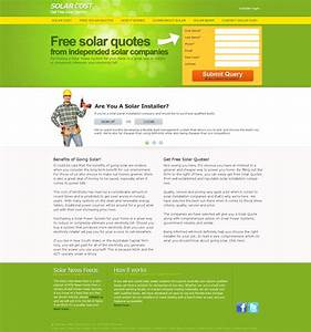 Solar energy panels system website design Melbourme ...