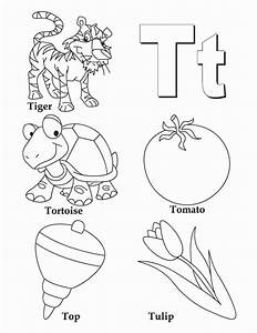 Letter T Coloring Pages Preschool at GetColorings.com ...