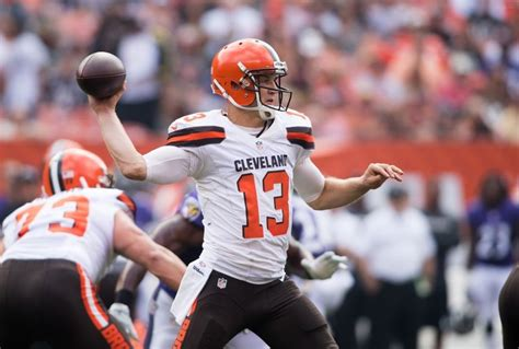 cleveland browns starting josh mccown    option