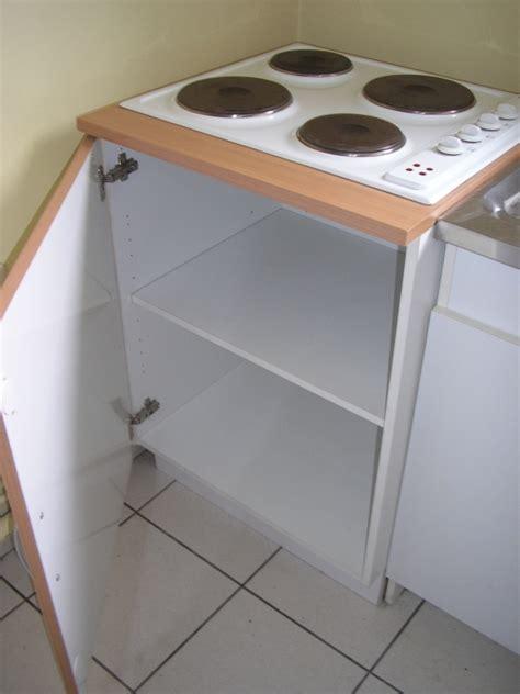 meuble cuisine pour plaque de cuisson meuble plaque vitroceramique cuisine en image