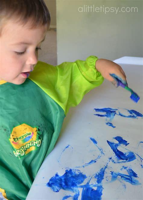 splatter paint   toothbrush   tipsy
