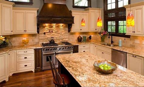 kitchen cabinets with light granite countertops granite venetian gold light polished slab 9837