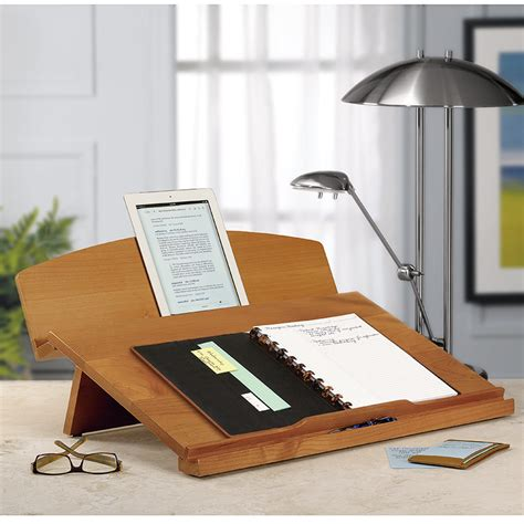 levenger lap desk stand i use mine every day editor 39 s desk portable desk
