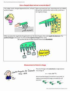 A Cartoon Guide To Physics  Electricity